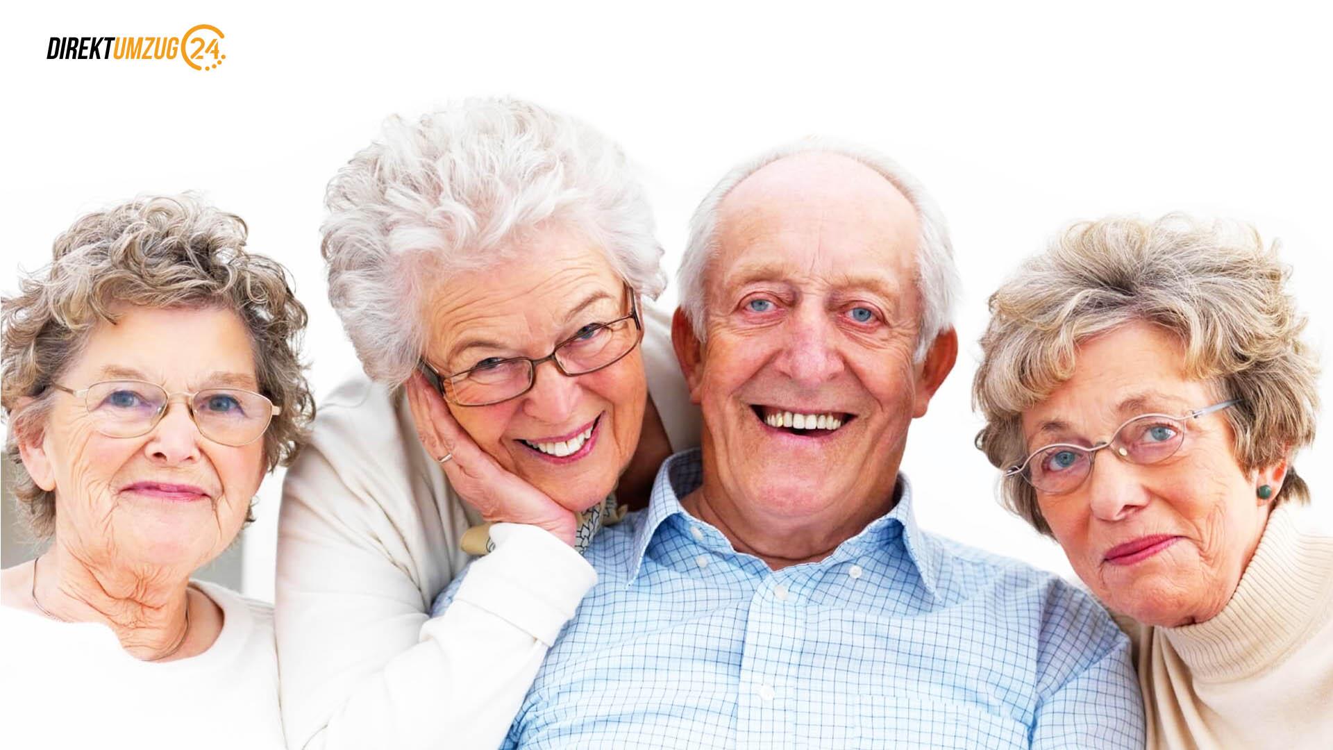 Seniorenumzug mit Direktumzug24
