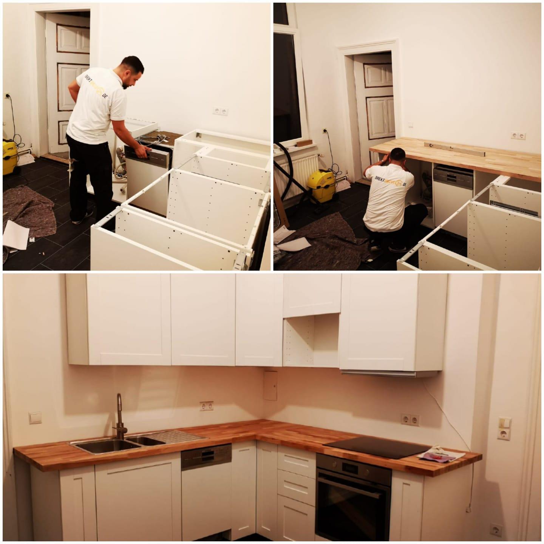 Wir übernehmen die Möbelmontage / Küchenmontage